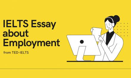 IELTS Essay on Employment