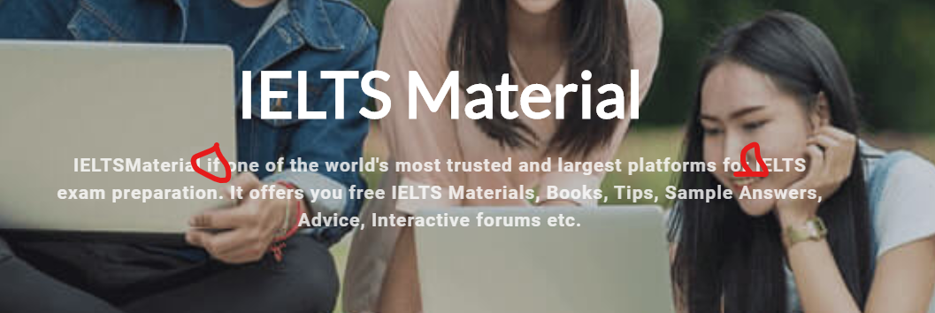 ielts material review