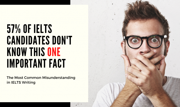 57% of IELTS Candidates Don't Know This