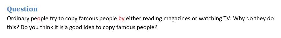 fake ielts question 4