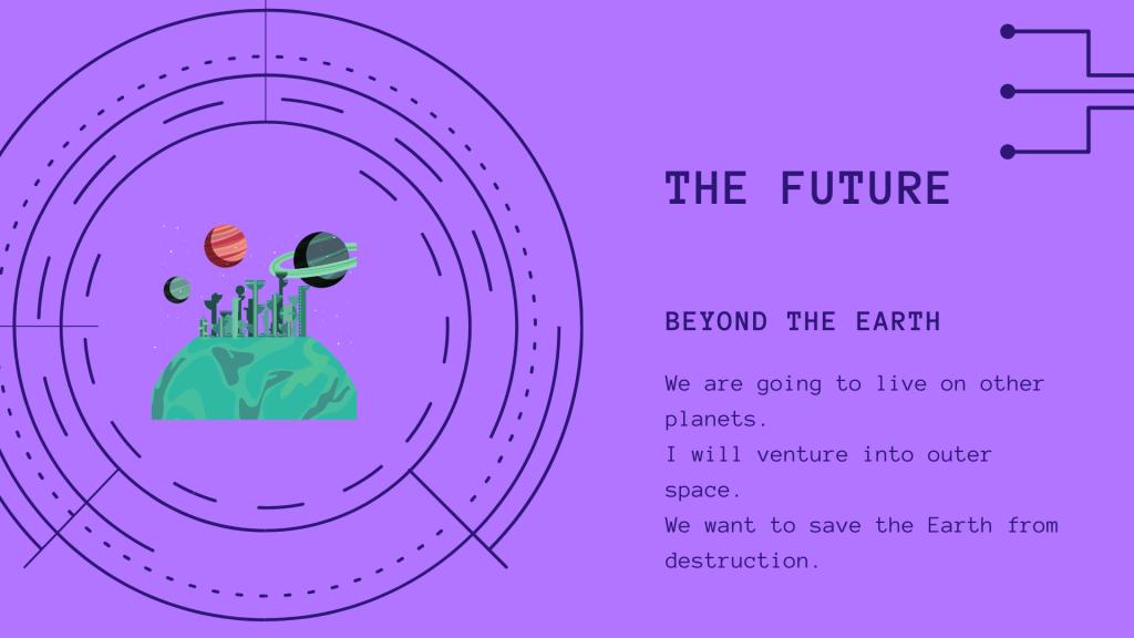 the future - ielts speaking