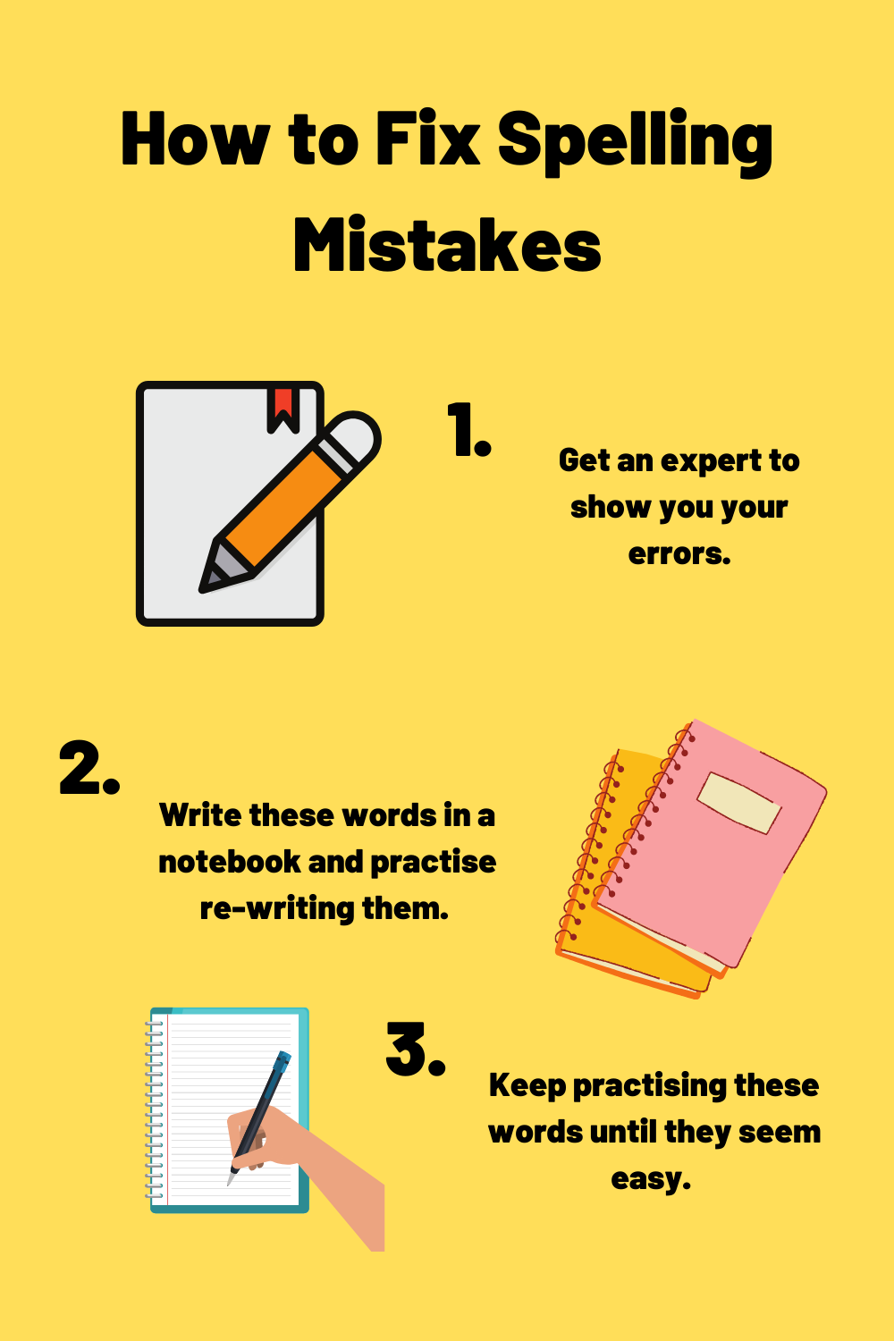 how to fix spelling mistakes