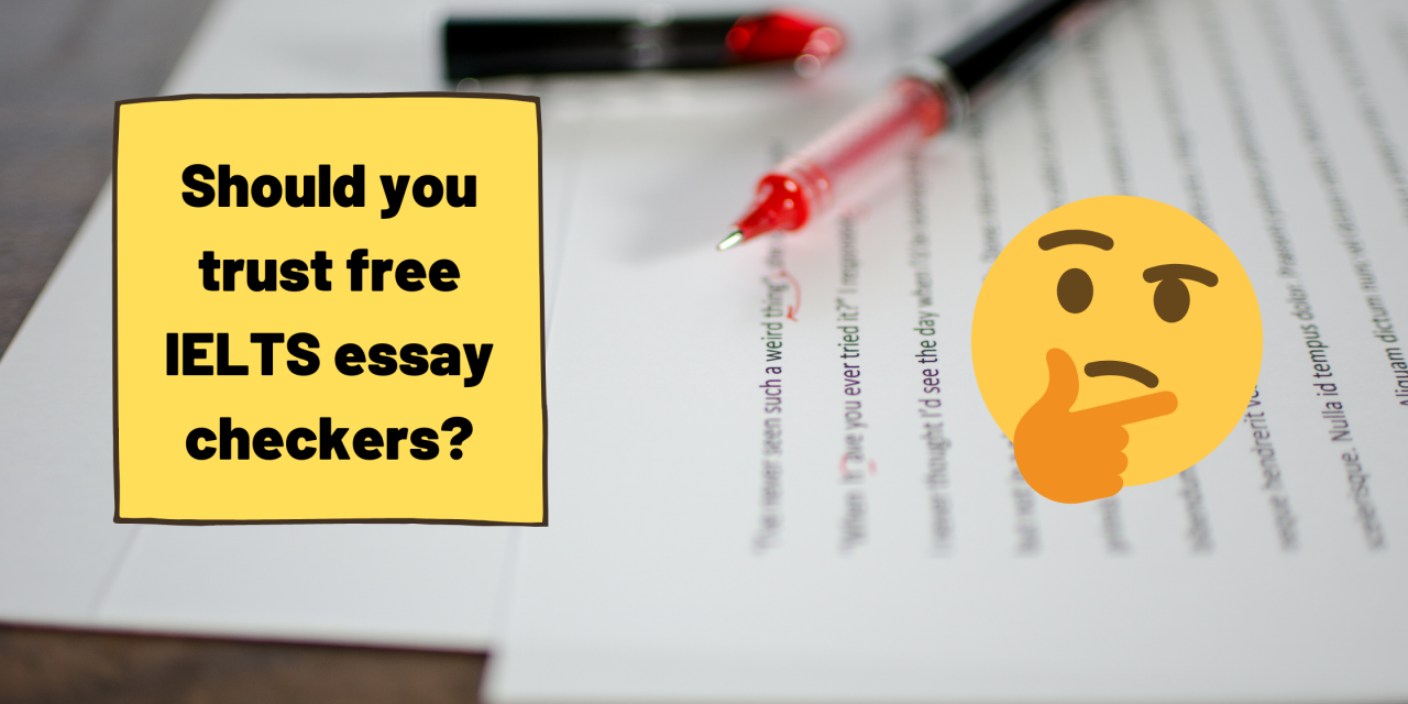 Can You Trust Free IELTS Writing Correction Services?
