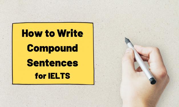 Compound Sentence Formula