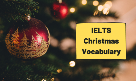IELTS Christmas Vocabulary