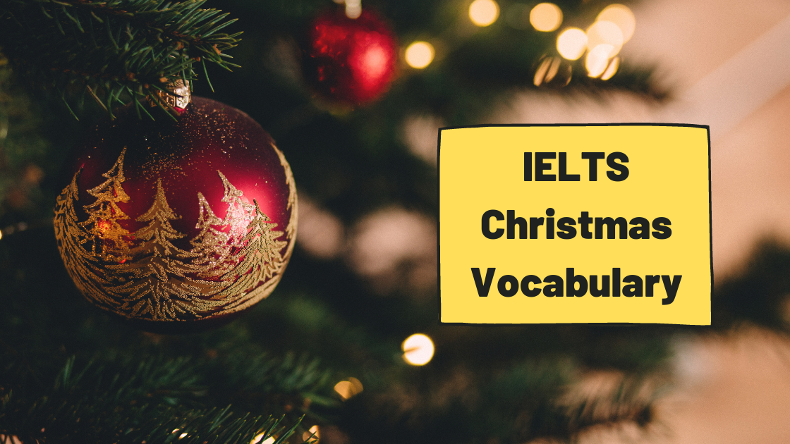 IELTS Christmas Vocabulary