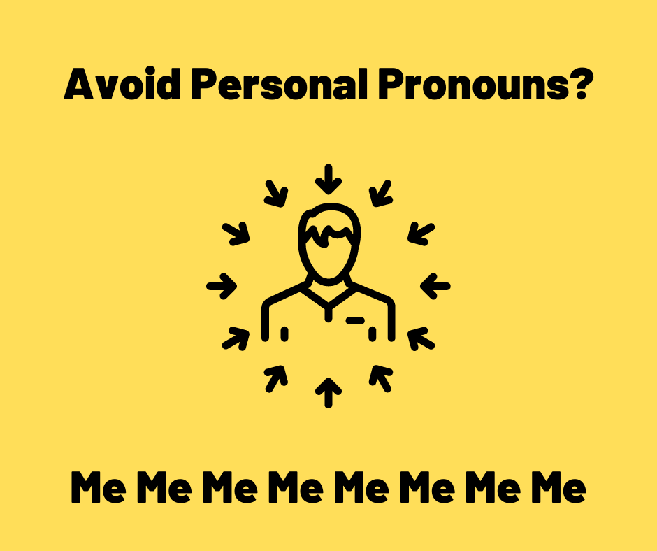 personal pronouns for agree/disagree essays
