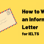 How to Write Informal Letters for IELTS