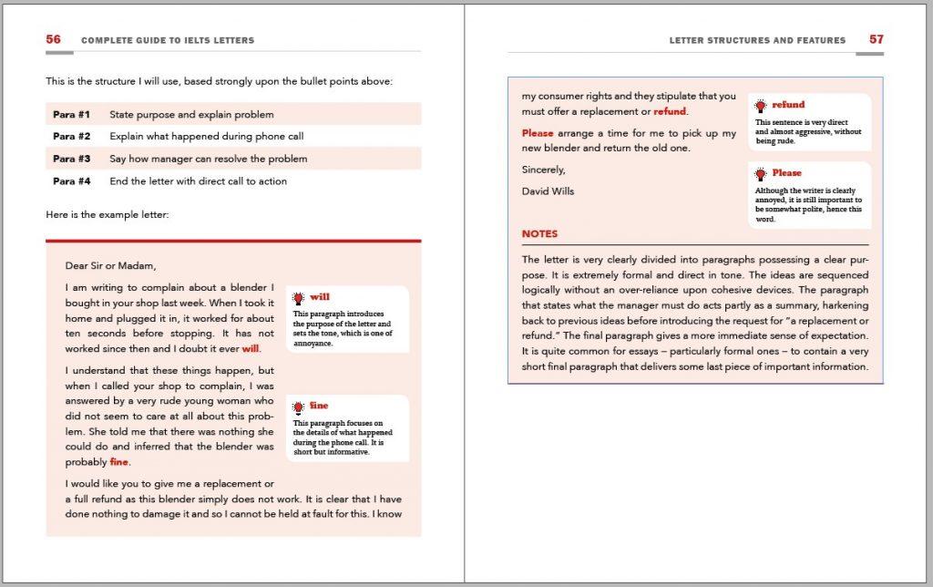 ielts letter sample pdf