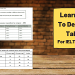 How to Describe Tables for IELTS Writing Task 1