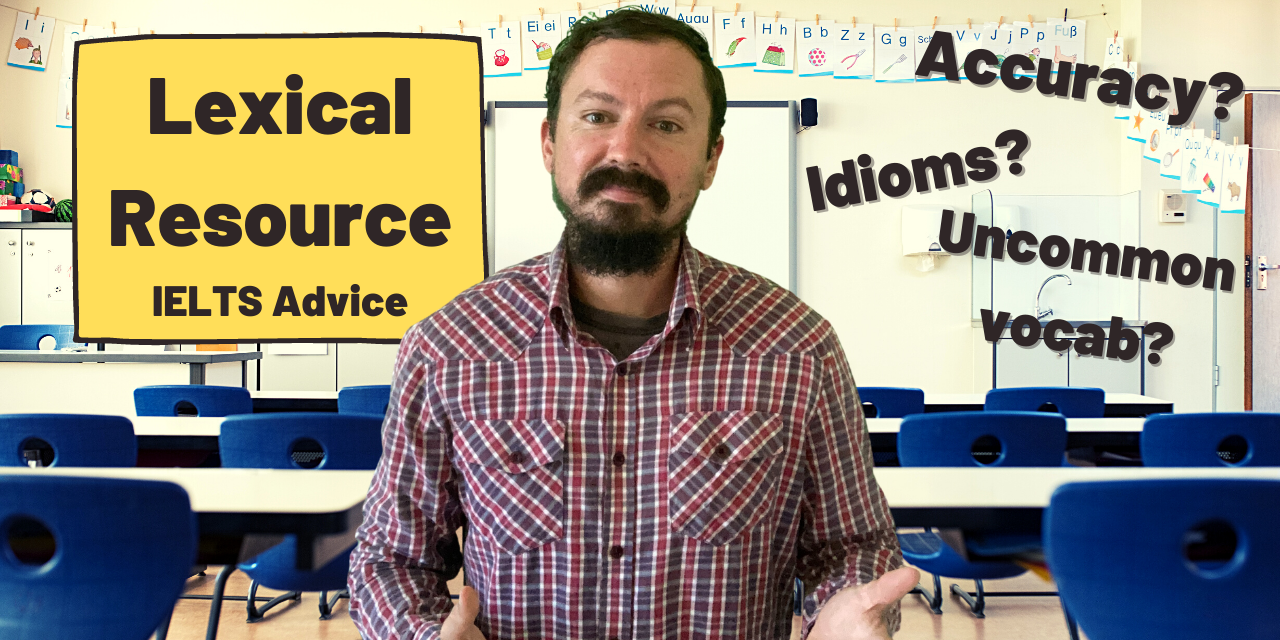 New Video: A Guide to Lexical Resource