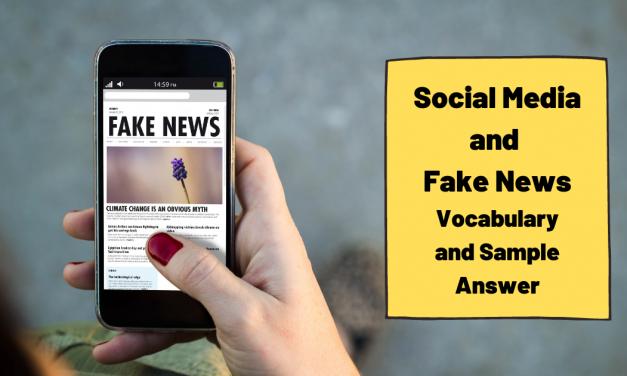 Social Media and Fake News – IELTS Vocabulary