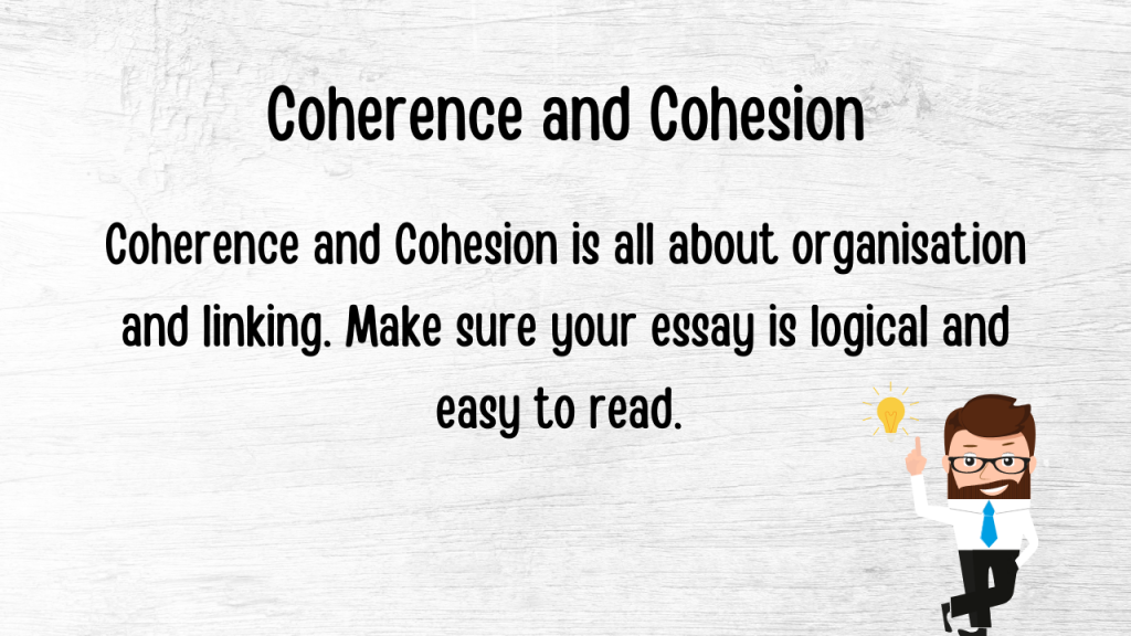 coherence and cohesion for band 9