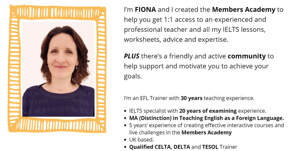 ielts with fiona
